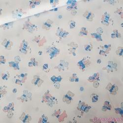 Tul poliamida 100% 150cm c/azul½n
