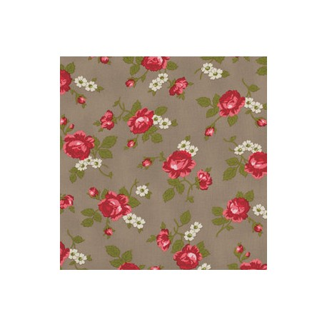 PIROUETTE SCATTERED ROSE MOCHA 10.70 €/m