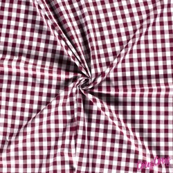 Patchwork Algod½n 100% 115cm Rosa palo con topos c/13690
